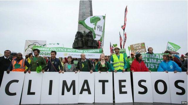 包括英國、比利時、阿富汗在內的161個國家都舉行了遊行示威活動。