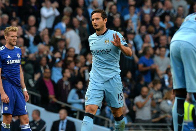 Lampard ainusuru Man City 1-1 Chelsea