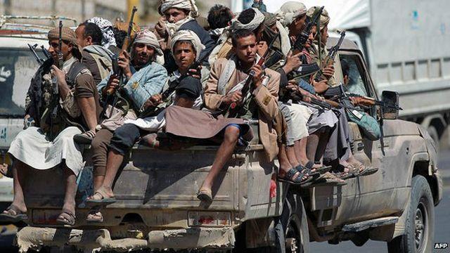 Rebeldes Houthi