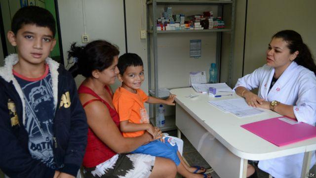 Atendimento em Posto de Saúde da Família em Novo Gama (GO) | Foto: Antonio Cruz / Agência Brasil