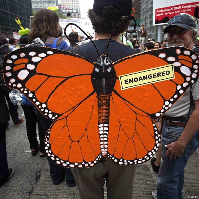 क्लाइमेट मार्च, पर्यावरण में बदलाव के ख़िलाफ़ प्रदर्शन