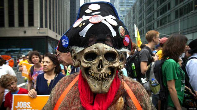 क्लाइमेट मार्च, पर्यावरण में बदलाव के ख़िलाफ़ प्रदर्शन, अमरीका