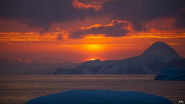 Cielo antártico