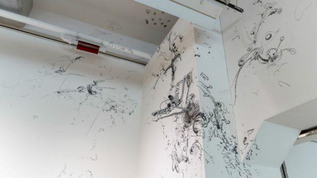 """王郁媜的作品""""最后的开始""""在台北双年展上展出"""