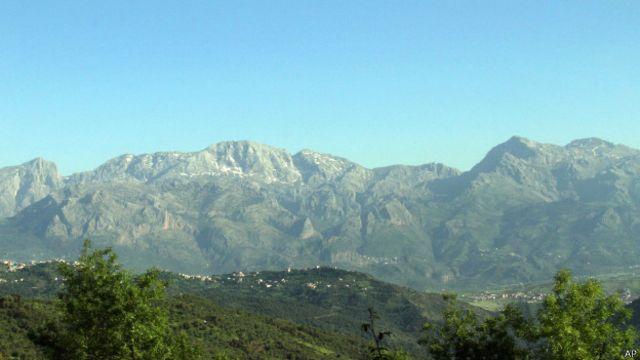 Алжир горы