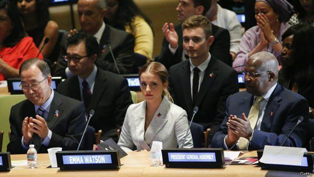 身为联合国妇女署亲善大使的艾玛称,目前女性在电影中没有得到足够的角色机会。