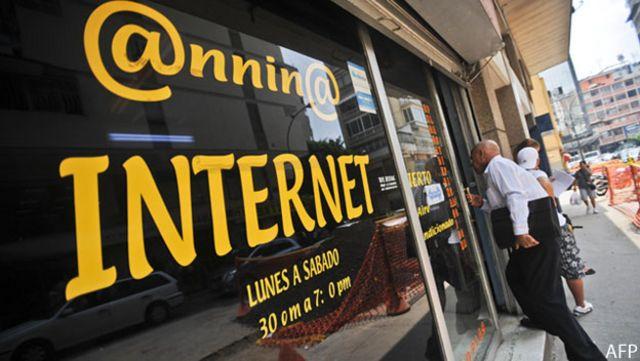 Café internet en Caracas