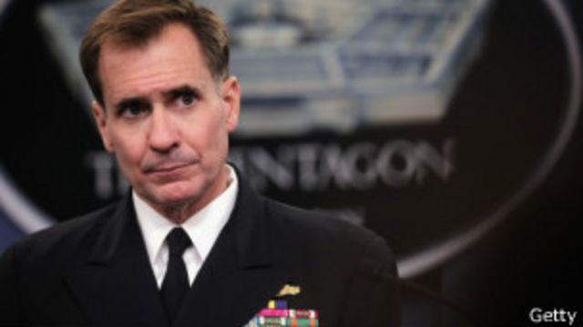 Contraalmirante John Kirby
