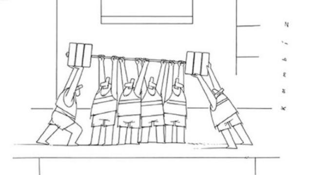 کارتون کامبیز درم بخش، جهان صنعت