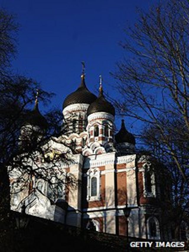 塔林东正教亚历山大•涅维斯基大教堂