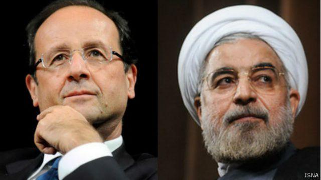 بحران عراق محور اصلی گفتگوهای روحانی و اولاند را تشکیل میدهد