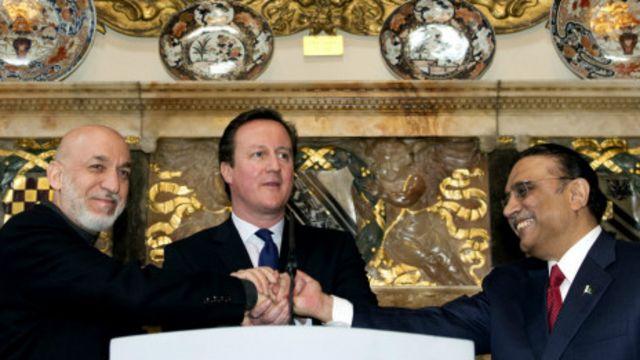بریتانیا نیز بارها میان پاکستان و افغانستان میانجگری کرد