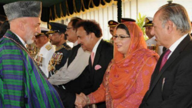 آقای کرزی در دوران زمامداری اش بیست بار از پاکستان دیدار کرد