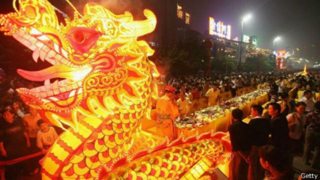 Người Trung Hoa thờ rồng, con vật thần thoại giúp nghề nông