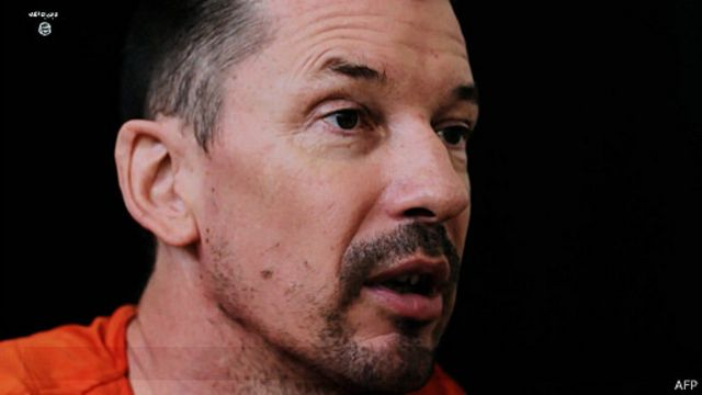 اختطف كانتلي في سوريا بعد عودته في ديسمبر/ كانون الأول