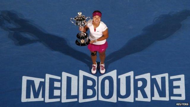 Li ganó su segundo Grand Slam cuando conquistó el Abierto de Australia en enero de este año.