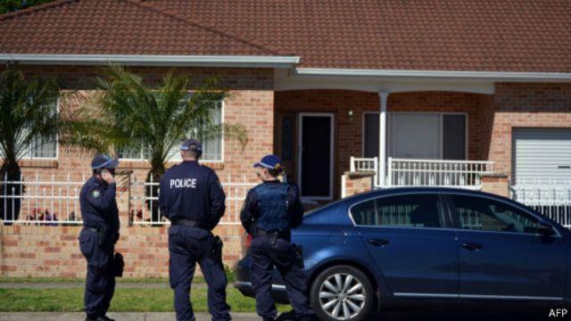 Vụ bắn nghi phạm xảy ra tại Melbourne