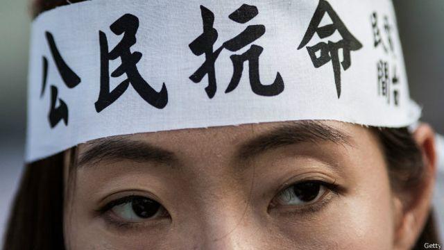 被視為香港史上最大規模的大專學生罷課已展開
