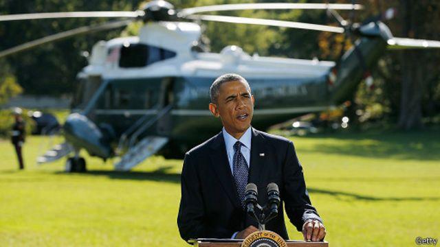 أكد اوباما استهداف الغارات لمقر التنظيم في معقله