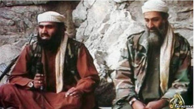 شهد أبو غيث أن بن لادن قد طلب منه أن يكون متحدثا باسم تنظيم القاعدة في ليلة هجمات 9/11.