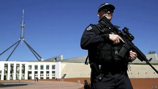 An ninh được tăng cường trong lòng nước Úc