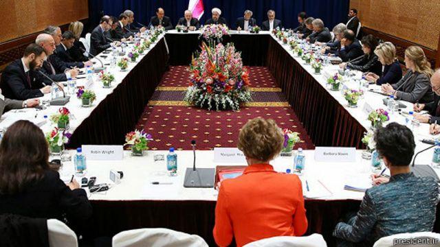 رئیس جمهور ایران در جمع مدیران رسانه های آمریکایی صحبت کرده است