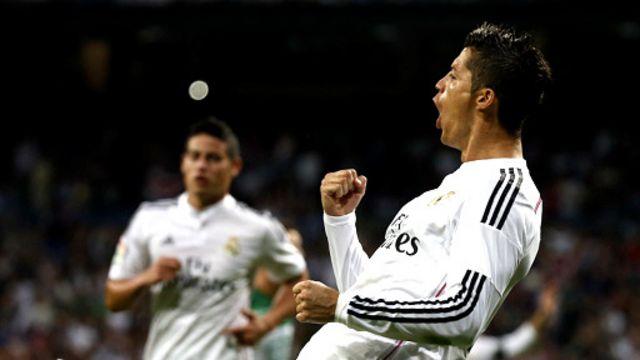 رونالدو يتصدر قائمة الهدافين بتسعة أهداف