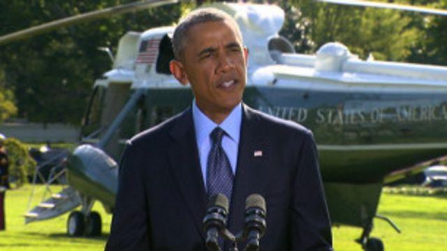 Discurso de Obama / Crédito: Reprodução