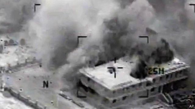 دمشق أعلنت أن واشنطن أبلغتها بالضربات الجوية قبل تنفيذها بساعات