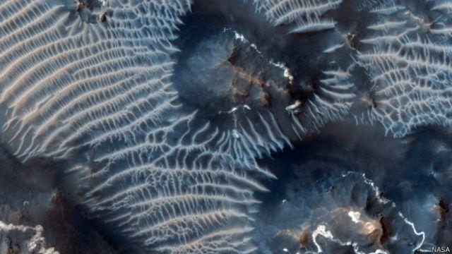 मंगल की सतह