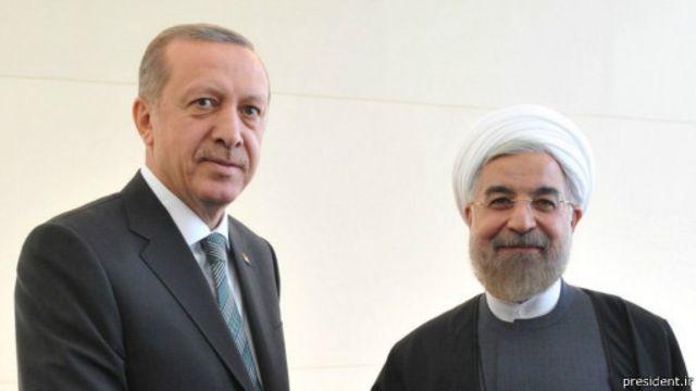 """روحانی گفته ایران و ترکیه باید """"اختلافات جزئی"""" را از طریق گفتگو رفع کنند"""