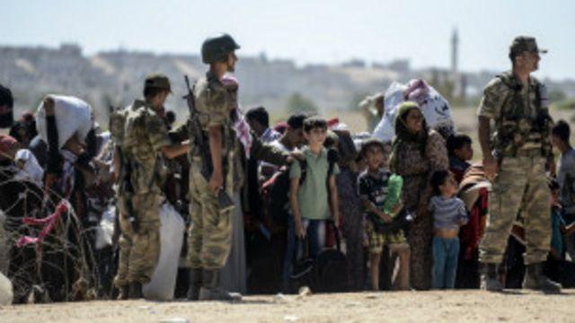 آوارگان کرد سوریه در ترکیه