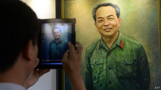 Đại tướng Võ Nguyên Giáp được nhiều người ngưỡng mộ