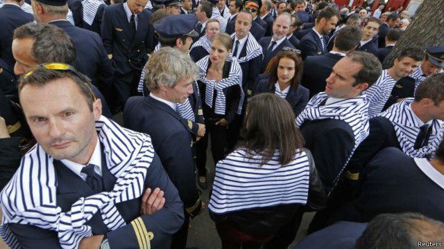 法航飞行员罢工