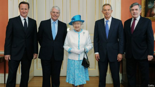 Королева и 4 премьер-министра