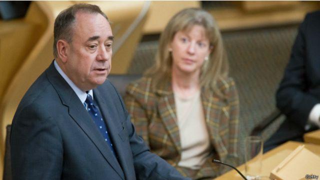 Лидер SNP после поражения на референдуме