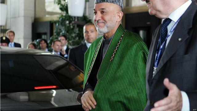 در ژوئیه ۲۰۰۷ حامد کرزی برای دیدار با وزیران خارجه بیست و پنج کشور به رم پایتخت سفر کرد. این اجلاس برای احیای نهادهای عدلی و قضایی افغانستان و حاکمیت قانون برگزار شده بود.