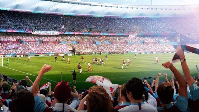 西汉姆拒绝与伦敦对手热刺共享奥林匹克球场
