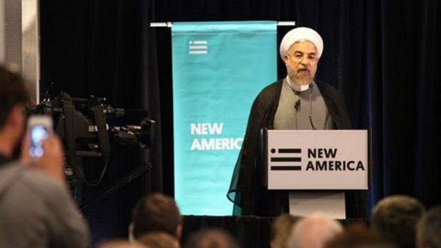 حسن روحانی امروز در بنیاد آمریکای نوین سخنرانی کرد و فردا در مجمع عمومی سازمان ملل متحد حاضر میشود