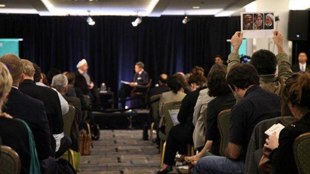 """در این جلسه عكسهايى از """"رهبران جنبش سبز"""" و غنچه قوامى روى دست برده شد اما سوالى درباره آنها پرسیده نشد"""