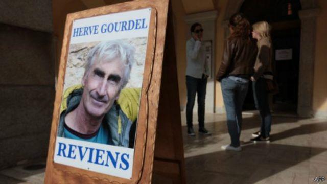 كان غورديل اختطف في منطقة تيزي وزو شمال شرقي الجزائر