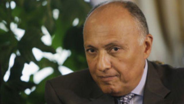 ألغى وزير الخارجية المصري المقابلة الثنائية مع نظيره التركي على ضوء كلمة أردوغان