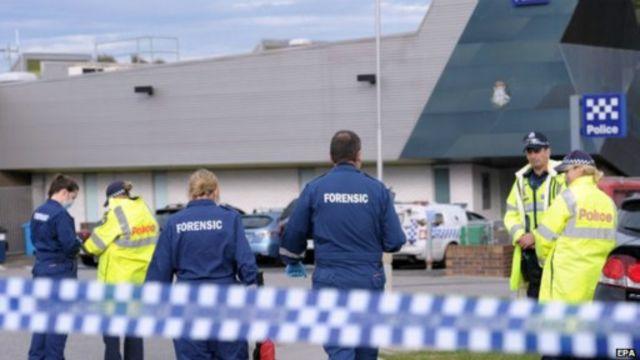Vụ bắn súng xảy ra tại đồn cảnh sát Endeavour Hills