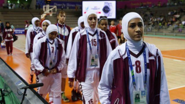 Tim bola basket Qatar