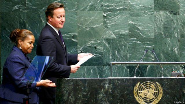 نخستوزیر بریتانیا در سخنرانی خود در مجمع عمومی سازمان ملل، ایران را به حمایت از تروریسم متهم کرد
