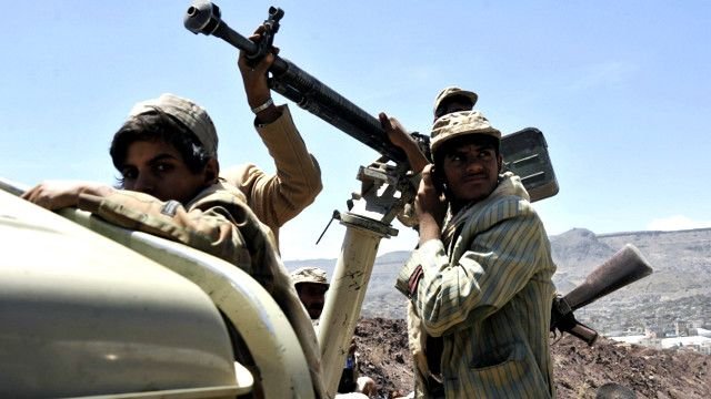 مسلحو جماعة الحوثيين