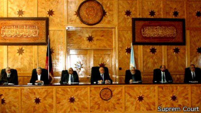 تعیین اعضای دادگاه عالی به تایید مجلس نمایندگان و عزل و نصب قاضیان هم به دست رئیس جمهوری است