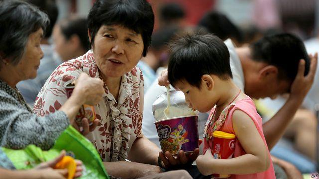 China, alimentos