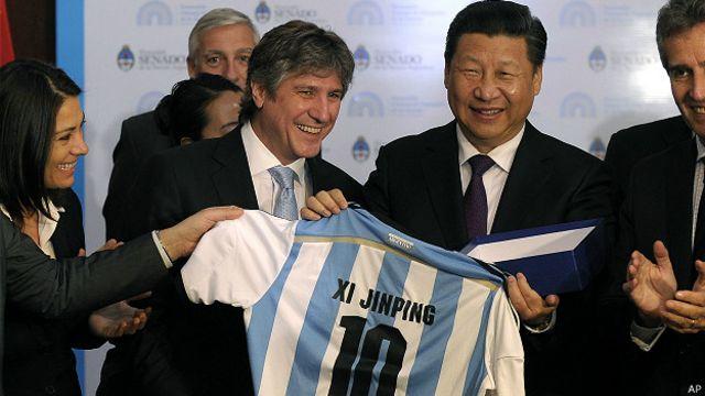 Xi Jinping, Argentina
