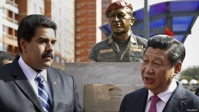 Nicolas Maduro, Xi Jinping